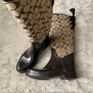 Coach Rain-boots